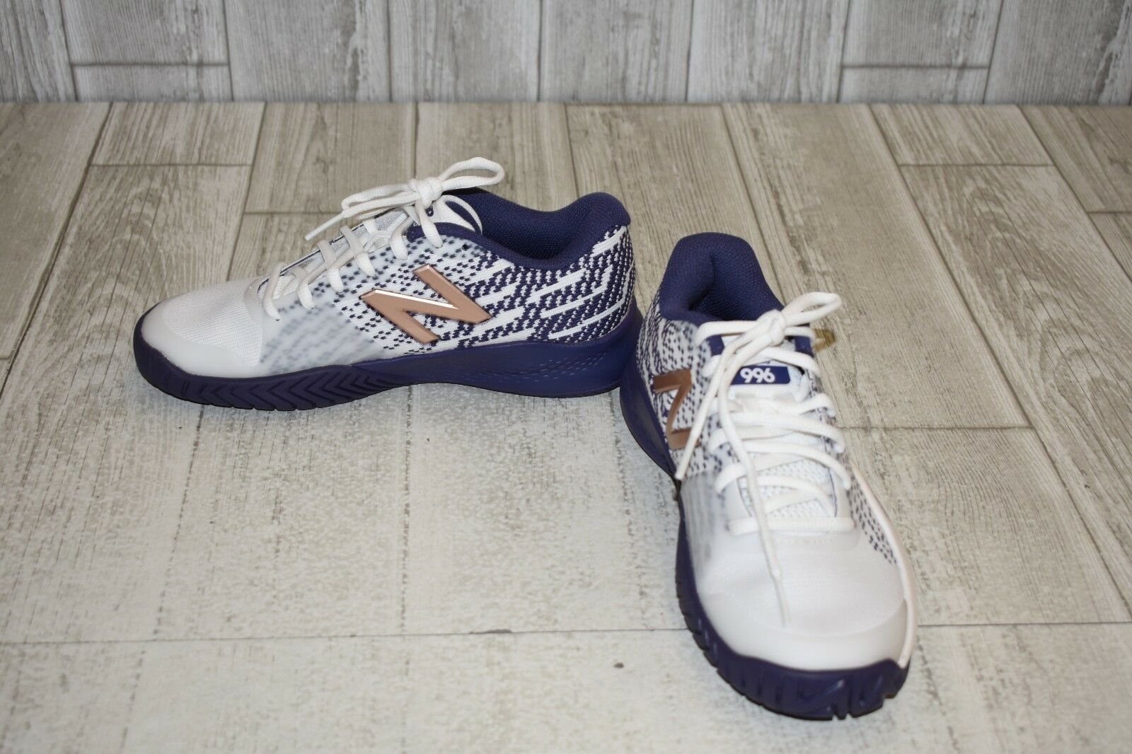 New Balance WCH996v3 Athletic shoes - Women's Size 6 B - White Purple NEW