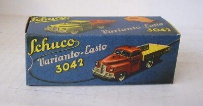 Blechspielzeug Spielzeug Repro Box Schuco Varianto Lasto 3042 Mit Traditionellen Methoden