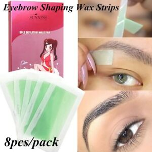 8Pcs-Wax-Strips-Papers-Leg-Body-Hair-Removal-Depilatory-Waxing-Nonwoven-Cloth