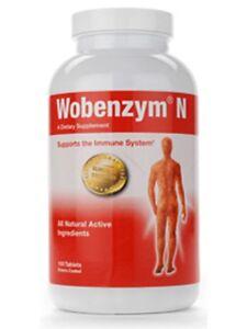 Wobenzym N By Mucos Pharma Germany 100 Tablets Immunity