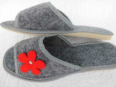 Acquista A Buon Mercato Feltro Ciabatte-pantofole, Tg. 41 Lana, Grigio (2-12-1-97)- In Vendita