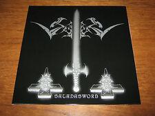 "SABBAT ""Satansword"" LP  abigail metalucifer midnight"
