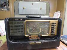 VERY NICE WORKING ZENITH TRANS-OCEANIC H500 RADIO