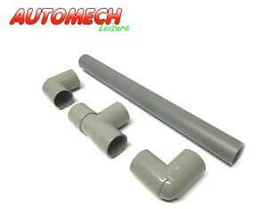 High-Quality-Caravan-Motorhome-Waste-Water-Pipe-Outlet-Hose-Drain-Away-Kit-28mm