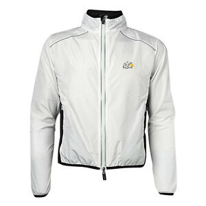 ROCKBROS-Cycling-Coat-Wind-Coat-Rain-Coat-Long-Sleeve-White