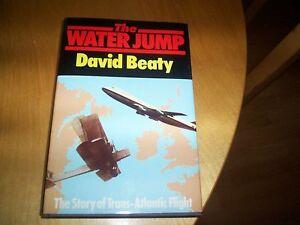 book the water jump david beaty the story of trans atlantic flight - HAMPTON, Middlesex, United Kingdom - book the water jump david beaty the story of trans atlantic flight - HAMPTON, Middlesex, United Kingdom