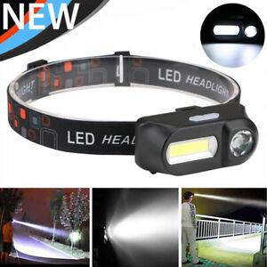 6-MODES-Projecteur-etanche-Rechargeable-LED-Lampe-Frontale-Phare-batterie