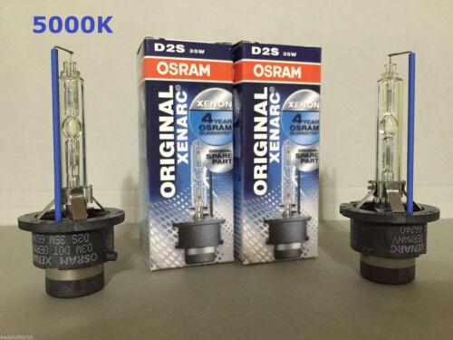 2PCS NEW OSRAM XENARC D2S 66240 66040 5000K OEM HID XENON LIGHT BULBS SET