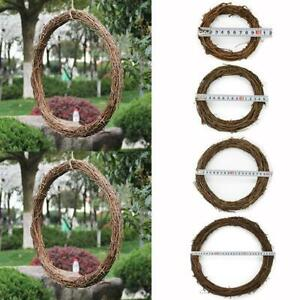 Garland-Hanging-Round-Wreath-Festive-Rattan-Ring-10-30cm-Photoing-Wall-DIY-Decor