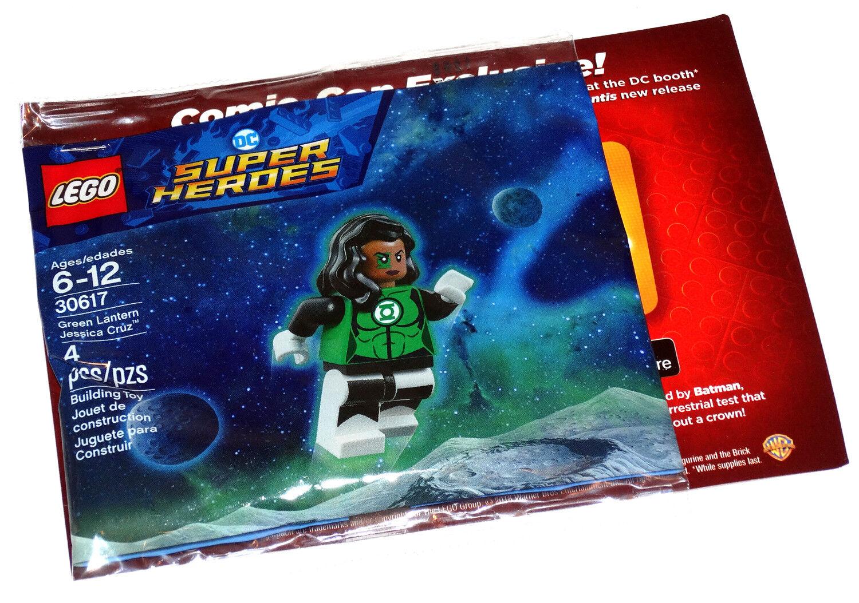 Grün Lantern Jessica Cruz SDCC Lego  30617 Exclusive Mini Figure MIP DC 2018