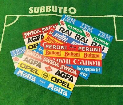 Rispettoso Subbuteo 36 Adesivi Pubblicità Stadio Recinzione C108 Fence Old Sponsor Sticker