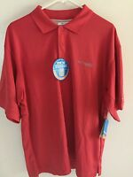 Colombia Shirt With Collar - Men's Medium - Upf 30 - Coral -