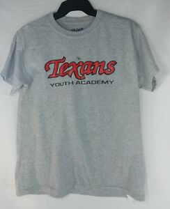 pretty nice 991f0 17094 Details about Texans Youth Academy T Shirt Gray Youth Large