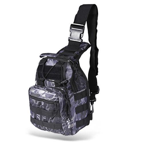 Men Backpack Molle Tactical Chest Assault Pack Messenger Shoulder Bag