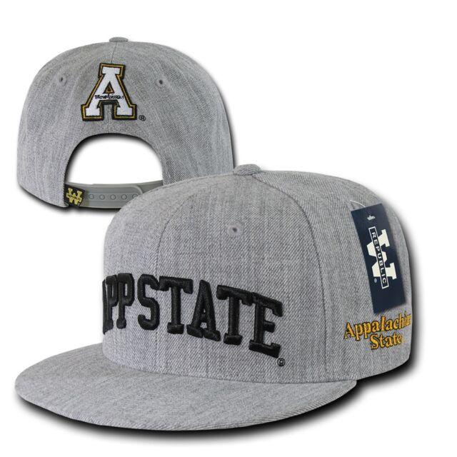 fa93b99ff7e ASU Appalachian App State Mountaineers NCAA Flat Bill Snapback Baseball Cap  Hat