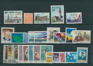 Finlande-Vintage-Yearset-1973-Neuf-MNH-Complet-Plus-Sh-Boutique