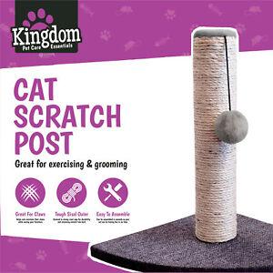 Cat-Kitten-Corner-Sisal-Scratching-Pole-Post-Pet-Toy-Scratcher-Play-Activity