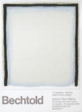 ERWIN BECHTOLD - Galeria René Métras Barcelona 1978 - Original Farblithographie