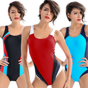 Sport-One-Piece-Swimsuit-Monokini-Womens-Swimwear-Plus-Size-Bikinis-Bathing-Suit
