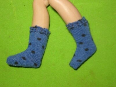 """ROYAL BLUE DOTTED SOCKS MADE TO FIT 8/"""" GINNY /& ALEXANDER"""