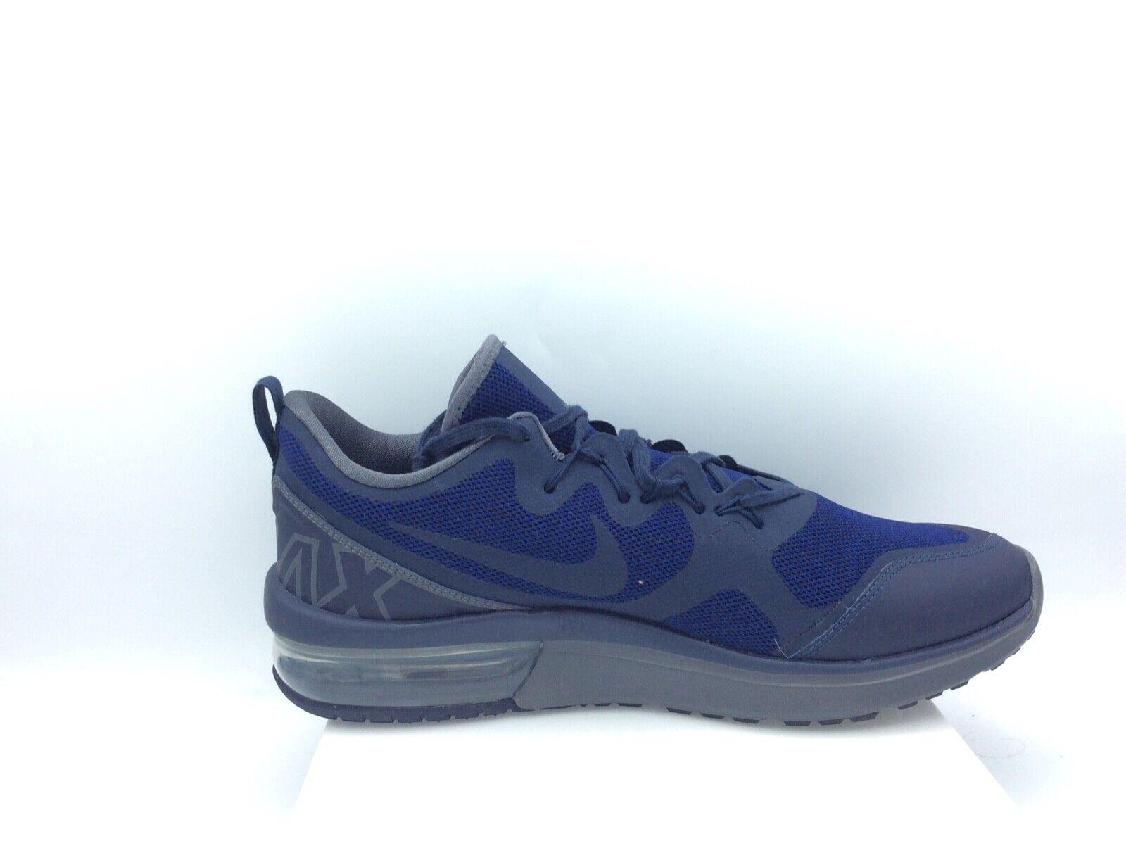 Nike, Men's Air Max Fury Running shoes, Obsidian Dark Grey, Size 11