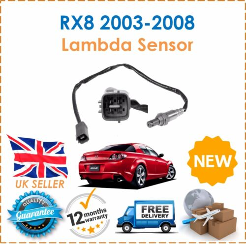 For Mazda RX8 1.3i 2003-2008 Front O2 Oxygen Lambda Sensor Direct Fit New