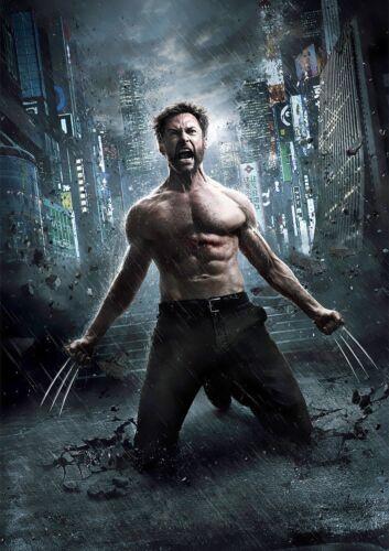 CHOOSE YOUR SIZE Wolverine Poster Hugh Jackman X-Men Movie Hit Series FREE P+P