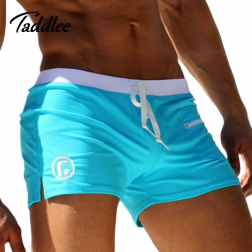 Taddlee Brand Men/'s Man Swimwear Swimsuits Swimming Boxer Shorts Sports Suits