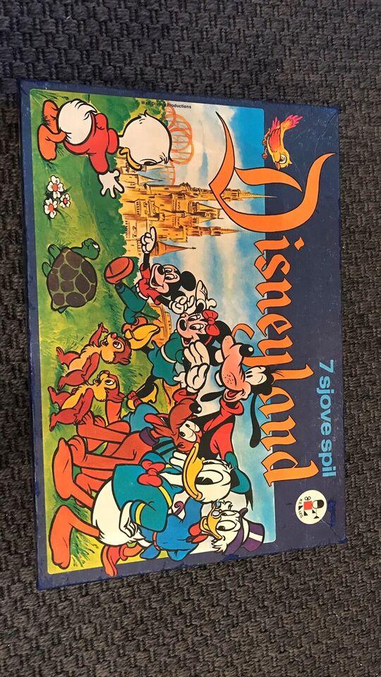Disneyland, Familiespil, brætspil