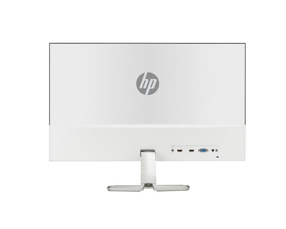 """Super tynd 27"""" HP designskærm - fremstår i hvid..."""