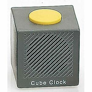 rnib talking cube alarm clock with batteries ebay. Black Bedroom Furniture Sets. Home Design Ideas