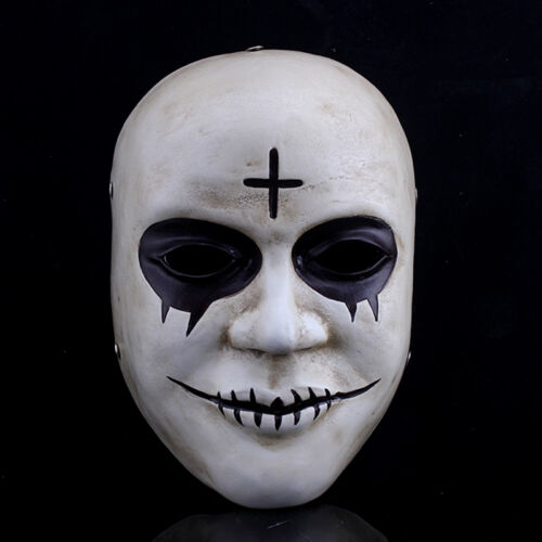 The Purge Anarchy Mask Scary Smile Face Resin Masks Cosplay Prop
