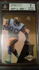 1993 Jerome Bettis Action Packed 24kt #52G
