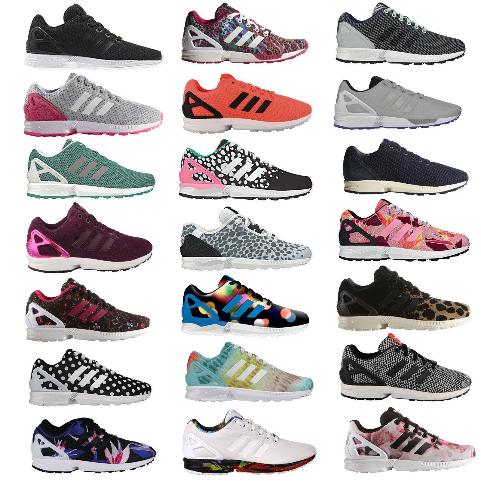 Adidas Originals ZX Flux Femmes-enfants-baskets Chaussures Basses Baskets Chaussures NEUF