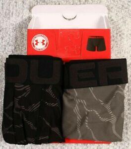 """(2 Pack) Under Armour $40 UA TECH BOXERJOCK 6"""" Briefs Underwear Men XL 38-40 NEW"""