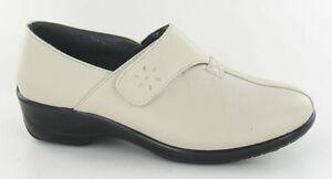 BNIB Dr. cringles confort Walker Zapatos En Crema Gancho Y Malla Con Cierre Tamaño 4-8