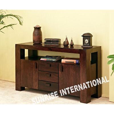 Contemporary Wooden Sideboard Cabinet Rack ( 2 Door, 3 Drawers , 1 Open Shelf )