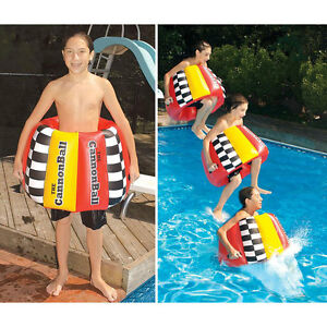 Image Is Loading The Cannonball Inflatable Pool FLOAT Toy Learn To