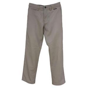 Oakley Rifle Pant 2.0 Mens Size 38 XXL New Khaki Beige Casual Golf Chino Pants
