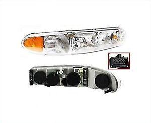 Image Is Loading Headlight Penger Side Rh W Bulbs Buick Century