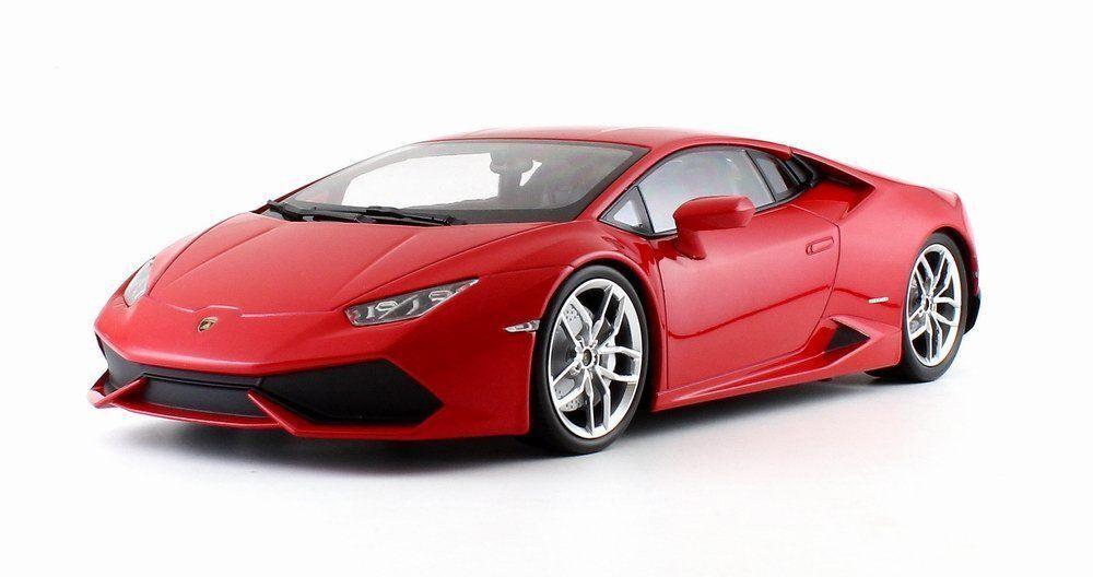 Lamborghini Huracan LP610-4 Rouge Métallique 1 18 par Kyosho C09511RM fermé Corps Nouveau