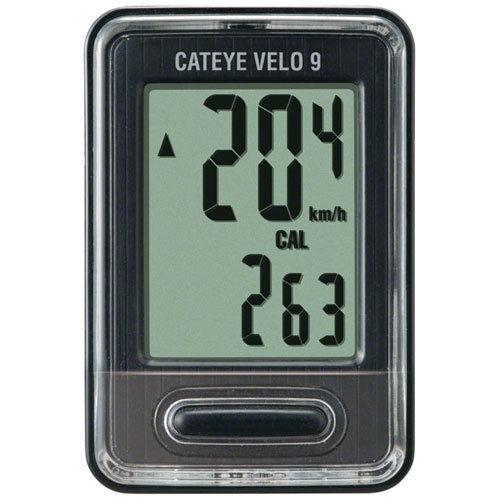 Cateye Velo 9 Cc Vl820 Bicycle Computer Black Ebay