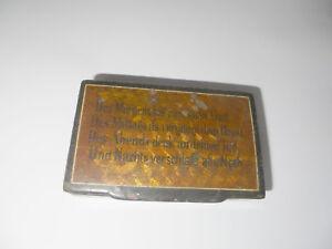 29208 Dose Schatulle Schnupftabakdose 19 Jh Holz- & Beinarbeiten 9,0x2,5,x5cm Pappe Lackarbeit