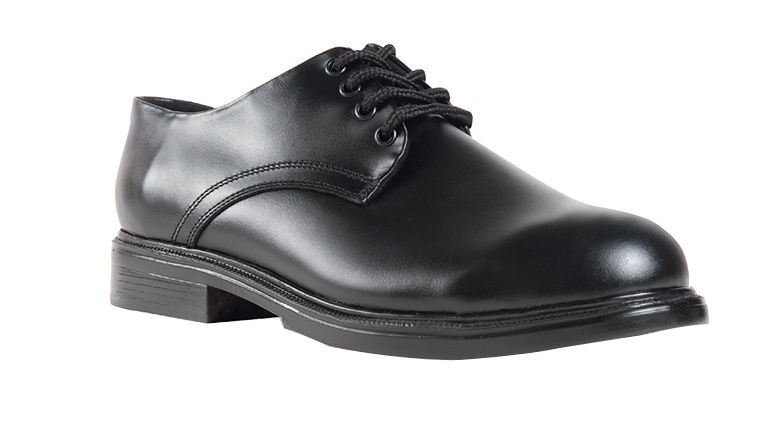 Oxford Black Gloss Leather Military dress Point uniform shoes - West Point dress High Shine 4c9df3