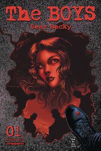 Boys Dear Becky #1 Cover A Darick Robertson 6//3//20 NM