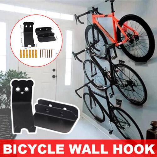Bicycle Wall Stand Hook Metal Hanger Bracket Storage Wall Mount Rack Garage