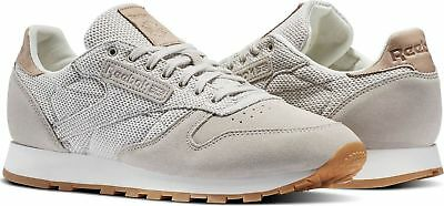 aliviar viudo alcanzar  Reebok Classic Leather EBK Men's Trainers Running Shoes - BS7850 - Grey |  eBay