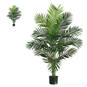 Image Is Loading Paradise Artificial Palm Tree 5 Feet Green Home