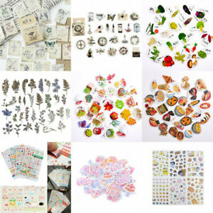 6x Sweet Girls Diary Sticker Kawaii Stationery DIY Notebook Diary Stickers New