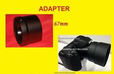 New LENS ADAPTER TUBE TO NIKON L310 L 310 L320 L 320 L120 Coolpix CAMERA 67mm